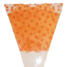 TANGO POLKA DOTS 17 IN ORANGE