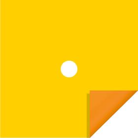 Bi-Color 20x20in yellow/orange H3