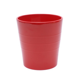 Ceramic Pot Linn ES12 red