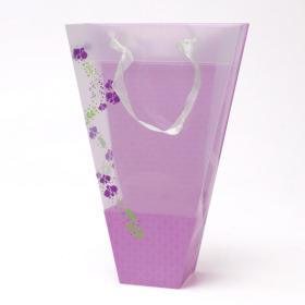 Carrybag Flower Garden 17/7x6/6x25cm lilac