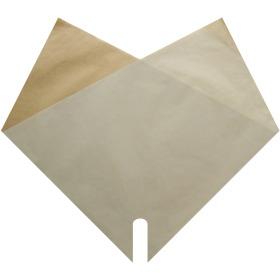 Sleeve Doublé Kraft 35x35cm cream