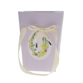 Carrybag Easter Decoration 15/15x11x20cm FSC Mix lilac