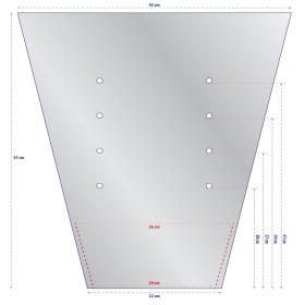 Sleeve BOPP40 60x45x22cm BO V-Seal
