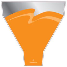 Maui 21.5x17.5x5in orange