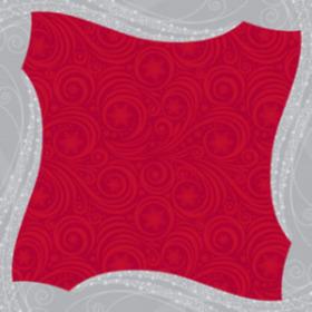 Wintermist 24x24in red H3
