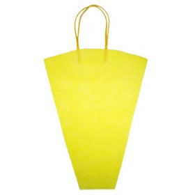 Flowerbag Nonwoven 16.5x17x5 in yellow