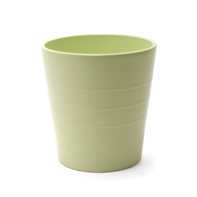 Ceramic Pot Linn 5in matte soft green