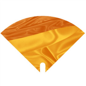Sleeve Moon Satin 40x40cm orange