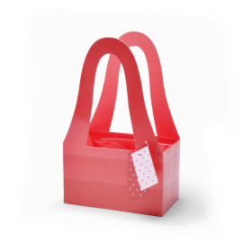 Carrybag Fashion 20/11.5x32.5cm red