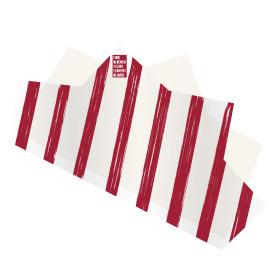 Vel Doublé Spa 50x85cm rood