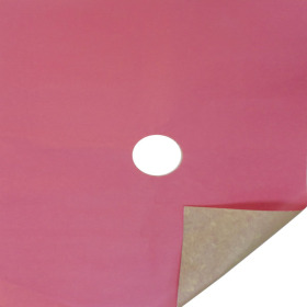 KRAFT 20X24 IN 50GRS PINK WITH HOLE