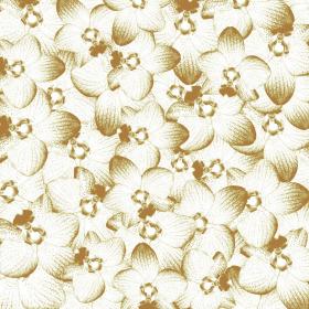 Sheet Satin Orchid 40x40cm champaign