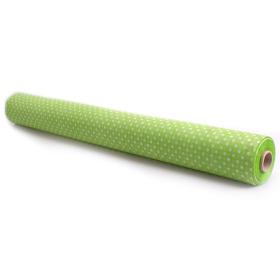 Rol Nonwoven Dots 60cm x 25m groen