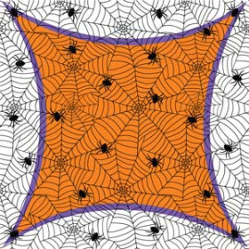 Wicked Web 24x24 in