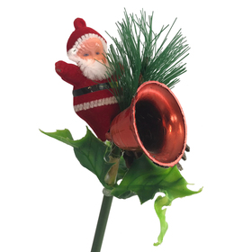 Santa Deco on 50cm stick