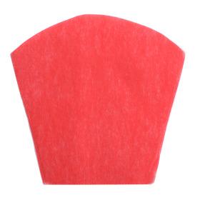 Sleeve Nonwoven 22x22x13cm red