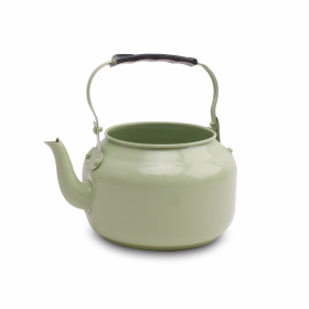 Zinc Teapot Misty green matt