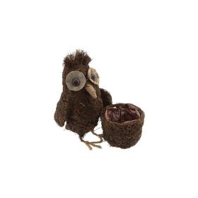 Mr. Owl 18x13x26cm