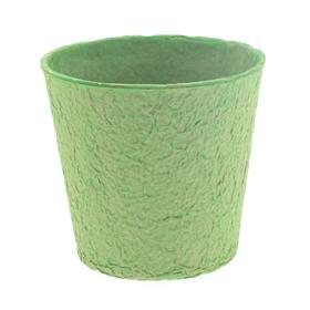 """Paper Pulp Pot Carta 4"""" green"""