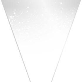 Celestine 20x17x5in white
