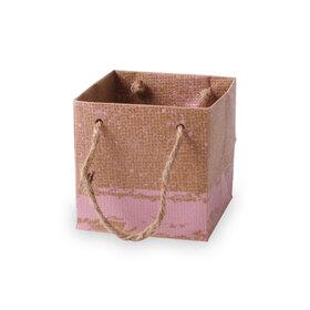 Carton bag Kirsten 10x10x10cm pink