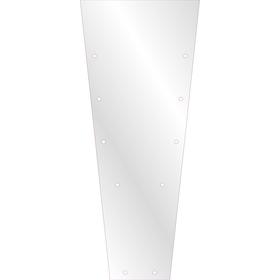 Plantenhoes 105x40x25cm BOPP50/CPP50 +LG/BD transparant