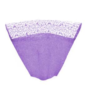 Sleeve Nonwoven Deluxe Top 40x50x19cm purple