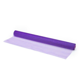 Organza on roll 50cm x 10m purple