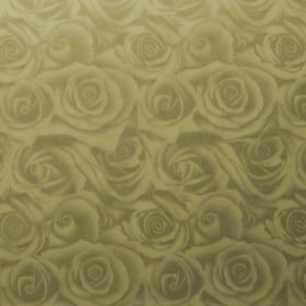 Sheet Organza Roses 40x40cm yellow