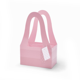 Carrybag Fashion 20/11.5x32.5cm pink