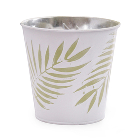 Zinc pot Urban Jungle 5in green