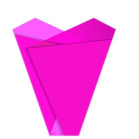 Sleeve Teagan 50x35x10cm pink