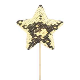 Star Cheerzz 10cm on 10cm stick gold
