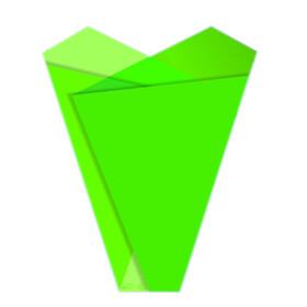 Sleeve Teagan 50x35x10cm green