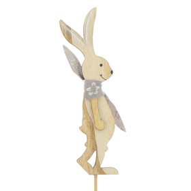 Rabbit Roy 12cm on 10cm stick FSC Mix