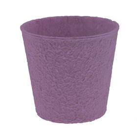 """Paper Pulp Pot Carta 4"""" lilac"""