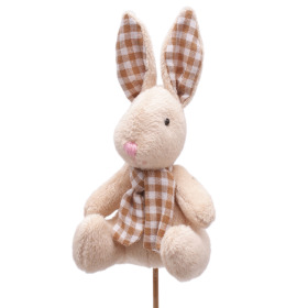 Beary Bunny 12.5cm on 50cm stick