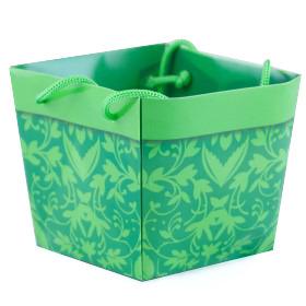 Carrybag waterproof folded Napoli 10x11/11x9/9cm green