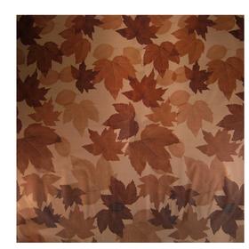 Fall Leaves 24x24in brown