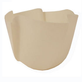 Twister Pot 6in beige - Colombia only