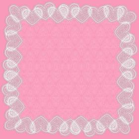 Vintage Love 24x24 in pink