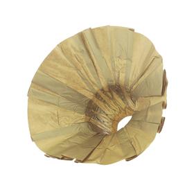 Boekethouder Kraft Ø25cm FSC Mix goud
