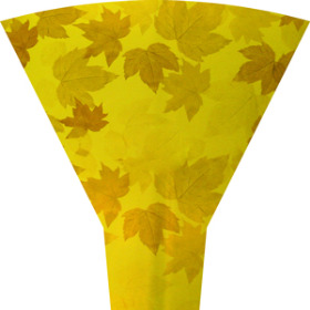 FALL LEAVES 19 IN MOON TOP YELLOW (NO HEADER)