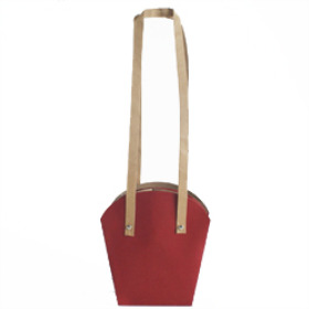 PLANTCARRIER CARDBOARD 3.5 IN RED