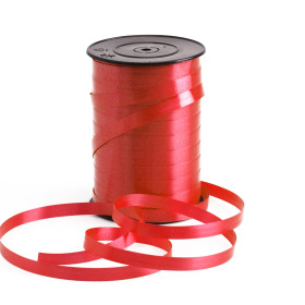 Curling ribbon 10mm x 250m fire red