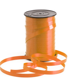 Curling ribbon 10mm x 250m orange