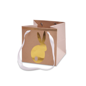 Carrybag Bunny Hop 6x6x6 in white