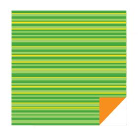 Flipsheets Lines 50x50cm yellow/orange