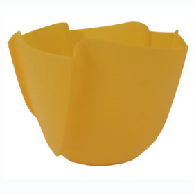 Twister Pot 6in yellow - Colombia only