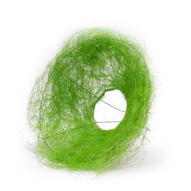 Boekethouder Sisal 15cm groen